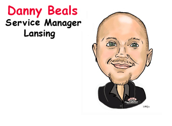 Danny Beals, Service Manager Lansing | Vision Tire & Auto