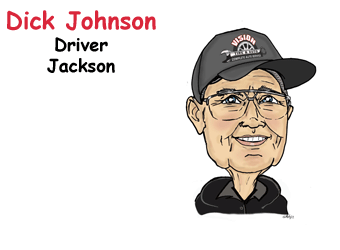 Dick Johnson, Driver Jackson | Vision Tire & Auto