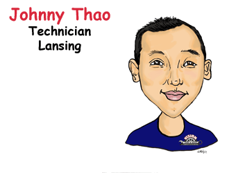 Johnny Thao, Technician Lansing | Vision Tire & Auto